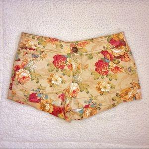 Floral Denim Forever 21 shorts